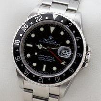 Ρολεξ (Rolex) GMT-MASTER II EDELSTAHL GMT MASTER 2 NO HOLES SEL