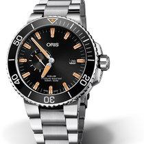 Oris Aquis Small Second 01 743 7733 4159-07 8 24 05PEB Oris DATE SMALL SECOND Nero new