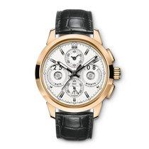 IWC Ouro rosa Automático Prata 45mm novo Ingenieur Perpetual Calendar Digital Date-Month