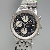 Breitling Old Navitimer Chronograph -Stahl/Stahl A13322...