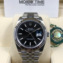 Rolex Datejust II 41mm Black index dial [new]
