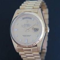 Rolex Day-Date 36 tweedehands 36mm Geelgoud