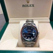 Rolex 126334 Datejust Blue Dial with Diamonds
