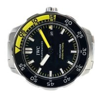 IWC Aquatimer Automatic 2000 pre-owned 44mm Black Steel