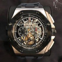 Audemars Piguet Royal Oak Offshore Tourbillon Chronograph Titanium 44mm Transparent