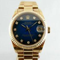 Rolex Datejust 31mm Blue Degradè Diamond dial Q.te Blu Brillanti