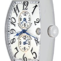 Franck Muller Master Banker pre-owned 33mm Steel