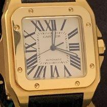 Cartier Santos 100 novo Ouro amarelo