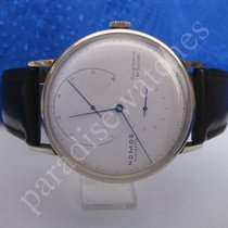 NOMOS Lambda White gold 42mm