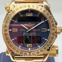 Breitling Emergency K56121.1 Very good Yellow gold Quartz