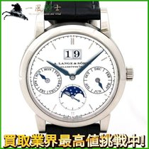 A. Lange & Söhne Saxonia White gold 38.5mm Silver United States of America, California, Los Angeles