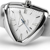 Hamilton Ventura Steel 43mm White