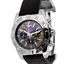 Breitling Chronomat GMT Acero 47mm Gris Sin cifras