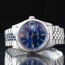 Rolex Datejust Ατσάλι 36mm Ασημί Xωρίς ψηφία
