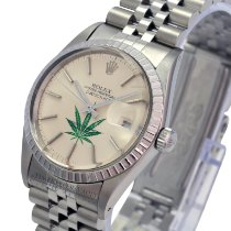Rolex Datejust Steel 36mm Silver No numerals United States of America, California, Sherman Oaks