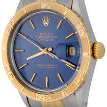 Rolex Datejust Turn-O-Graph Acero 36mm Azul Sin cifras