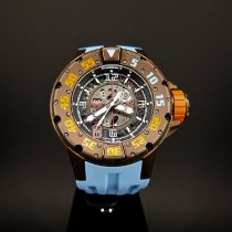 Richard Mille RM 028 Titanio 47mm Transparente Árabes