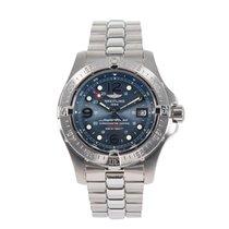 Breitling Superocean Steelfish Stahl 44mm Blau