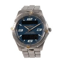 Breitling Aerospace Titanium 40mm Blue