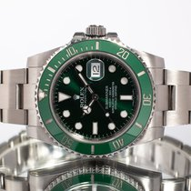 Rolex Submariner Date 116610 LV 2014 pre-owned