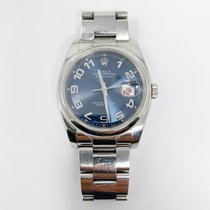 Rolex Datejust Steel 36mm Blue Arabic numerals United States of America, New York, New York