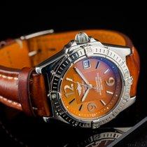 Breitling Callisto Steel 34mm Brown Arabic numerals