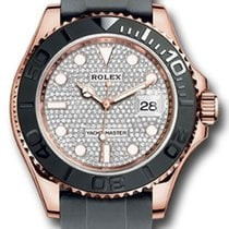 Rolex Rose gold Automatic White No numerals 40mm new Yacht-Master 40