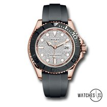 Rolex Yacht-Master 40 Rose gold 40mm White No numerals United States of America, New York, New York