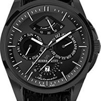 Jacques Lemans new Automatic Central seconds PVD/DLC coating 44mm Steel Sapphire crystal