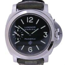 Panerai Stahl 44mm Handaufzug PAM 00005 gebraucht