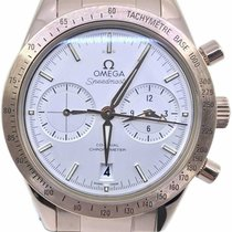 Omega Or rouge Remontage automatique Argent 41.5mm Speedmaster '57
