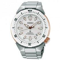 Seiko Prospex Steel 45mm White