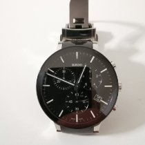 Rado Centrix pre-owned 40mm Grey Chronograph Double-fold clasp