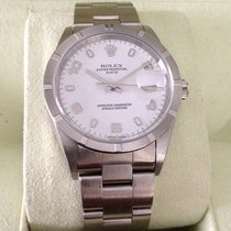 Rolex Oyster Perpetual Date Steel 34 mm White Dial (2004)