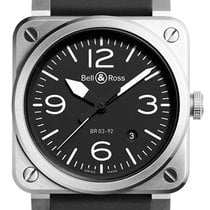 Bell & Ross BR 03-92 Steel new Automatic Watch with original box
