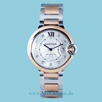 Cartier Ballon Bleu 36mm neu 2021 Automatik Uhr mit Original-Box und Original-Papieren W3BB0007