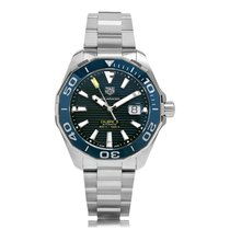 TAG Heuer Aquaracer Automatic Stainless Steel Blue Dial Mens...