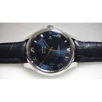 Omega DE VILLE HOUR VISION Co-Axial,Chrono.Leather Strap.Blue