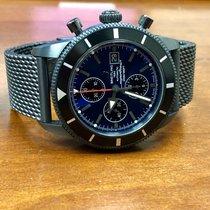 Breitling SuperOcean Heritage Chronograph 46 Blacksteel...
