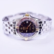 Breitling Callistino 27mm 18K White Gold and Stainless Steel...
