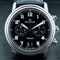 Blancpain 2885F-1130-53B Flyback Chronograph Big Date SS Black...