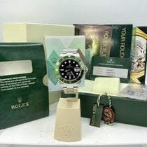 Rolex 16610LV Submariner Anniversary Green  Lime Full Set Papers