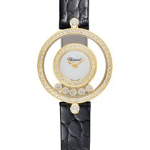 Chopard 203957-0201 Žluté zlato 2021 Happy Diamonds nové