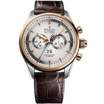 Zenith El Primero Chronograph new Automatic Watch with original box and original papers 51.2050.4026/01.C713