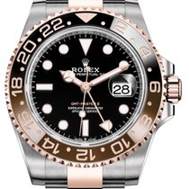 Rolex Rootbeer GMT Master II Stainless Steel / Rose Gold