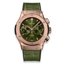 Hublot Classic Fusion Chronograph Rose gold 45mm Green