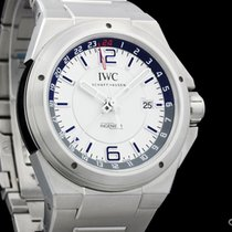 IWC 324404 Steel Ingenieur Dual Time 43mm