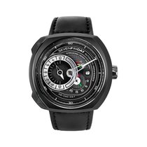 Sevenfriday Steel Automatic Black 44.3mm new