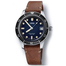 Oris Divers Sixty Five Steel 36mm Blue