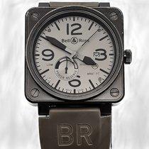 伯莱士 46mm 自動發條 二手 BR 01-97 Réserve de Marche 灰色